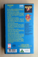 The New Adventures of SuperTed (UK VHS 1988) Back cover