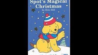 Original VHS Opening Spot's Magical Christmas (UK Retail Tape)