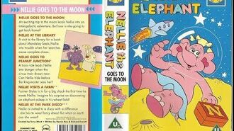 Original VHS Opening Nellie the Elephant Nellie Goes to the Moon (UK Retail Tape)