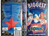 The Biggest Ever Adventures of Sonic the Hedgehog Video