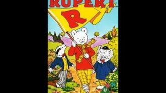 Original VHS Opening The All New Adventures Of Rupert Rupert And Crocodile (UK Retail Tape)