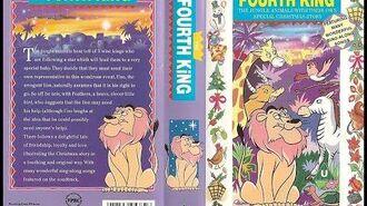 Original VHS Opening The Fourth King (UK Retail Tape)