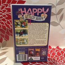 Happy - The Littlest Bunny Video Tape Cassette Tempo Video Children's VHS TBLO 2