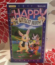 Happy - The Littlest Bunny Video Tape Cassette Tempo Video Children's VHS TBLO