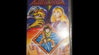 Original VHS Opening The Legend of Zelda (UK Retail Tape)