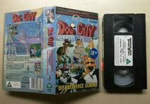 DOG CITY - DISOBEDIENCE SCHOOL - RARE - VHS VIDEO