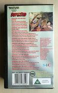 SuperTed's Bumper Video (UK VHS 1990) Back cover