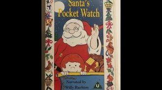 Original VHS Opening Santa's Pocket Watch (UK Retail Tape)