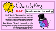 S1qwerbyking-death