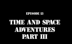 Time space 3 title card