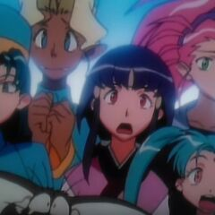 The Girls learns that Tenchi is leaving to Tokyo Tomorrow