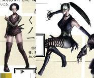 Tenchu 1 - kunoichi