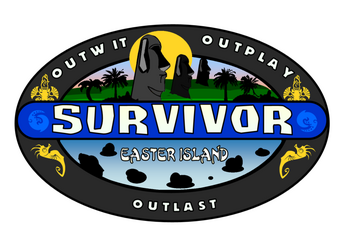 SurvivorEasterIslandLogo