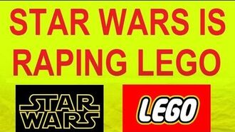 STAR WARS IS RAPING LEGO