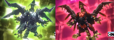 Tenkai Dragon (Both Forms)