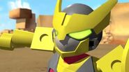 Tenkai Knights Webisode 6 - BlasTank Corruption!