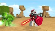 Tenkai Knights Webisode 5 - Shifting the Griffin