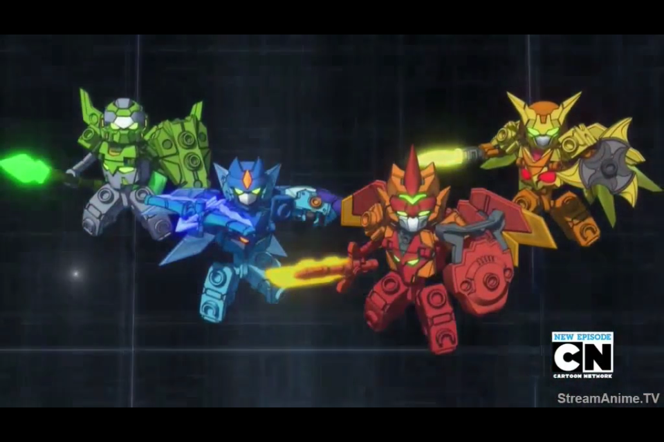 Tenkai Knights Elemental Activated