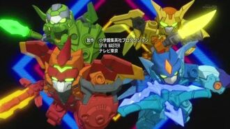 Tenkai Knights - ED - Tokenai Candy