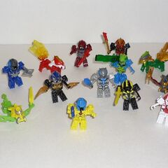 Series 1 and 2 Mystery Pack Figures and Special Tenkai Trooper.