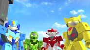 Tenkai Knights Webisode 10 - Tenkai United