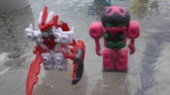 Joshuajacobson95's reviews Tenkai knights figures and custom venetta-0