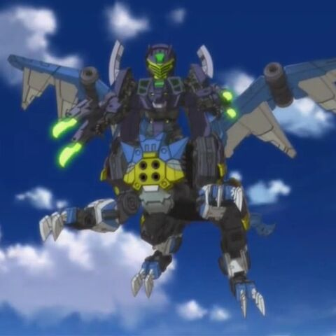 Titan Fusion of Slyger and a Sky Griffin.