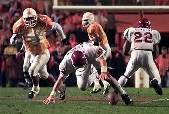 1998 Tennessee Volunteers vs. Arkansas Razorbacks | Tennessee Vols ...