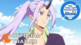 That Time I Got Reincarnated as a Slime Season 2 OFFICIAL TRAILER