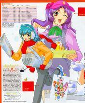 Tsubasa and mika s2
