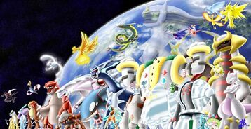 La Creación Del Universo (Basada En Arceus)