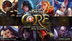 Golden Core Card Pack