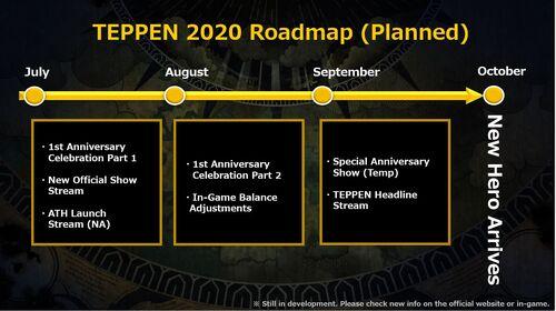 TEPPEN 2020 Roadmap