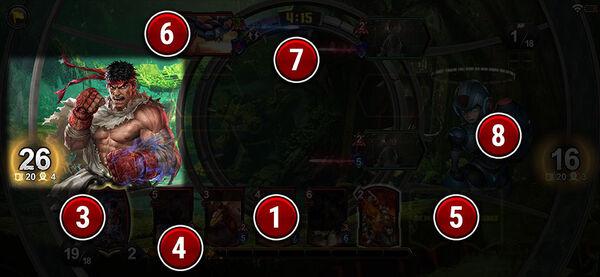 TEPPEN Battle screen (2)