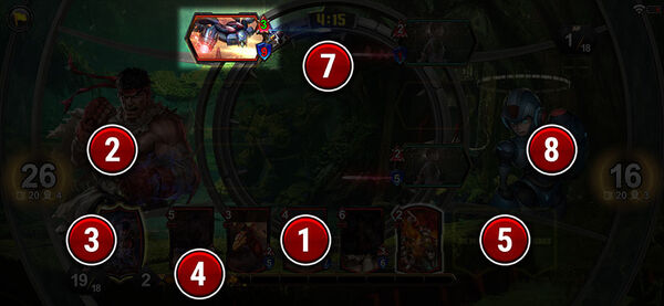 TEPPEN Battle screen (6)