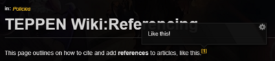 ReferencePopups example