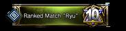 "Ranked Match ""Ryu"" 10th Place Emblem"
