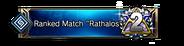 "Ranked Match ""Rathalos"" 2nd Place Emblem"