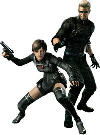 Resident Evil 0 - Wesker Mode characters