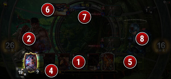 TEPPEN Battle screen (3)