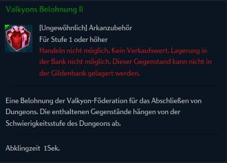 Valkyons Belohnung II