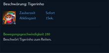 Beschwörung Tigerinho