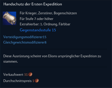 Handschutz der Ersten Expedition