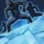 Icon Frostiger Rückzug