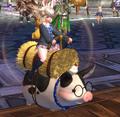 Geflecktes Schwein