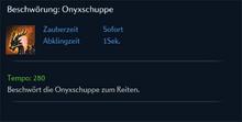 Beschwörung Onyxschuppe