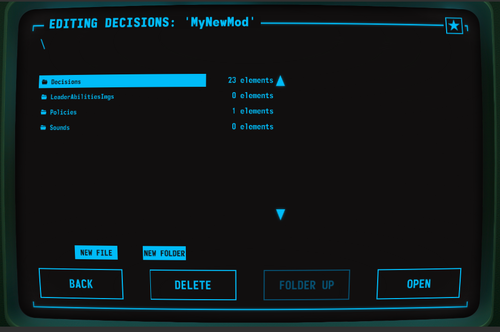 DecisionsMenu
