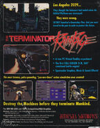 The Terminator- Rampage Back Cover