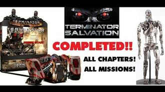 Terminator Salvation Arcade Completed All Missions, Chapters and Ending!!