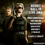 TDF Reddit Hall-R Live AMA